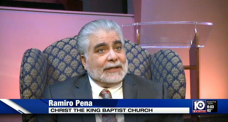 Pastor Ramiro Peña on Border Security